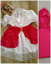 Little Red Riding Hood Costume Halloween Prairie Dress NEW Size XXS Size 2T 3T
