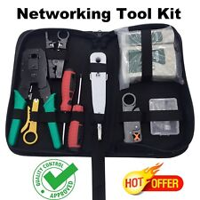 Rj45 Cable Tool Network Kit Crimper Tester Rj11 Ethernet Crimping Hand Lan Punch