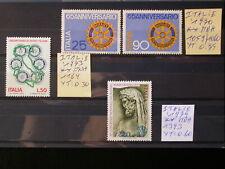 ITALIA,ITALIE '1970-79 MNH,LOT,YT 1,65 EUR,ROTARY INTERNATIONAL