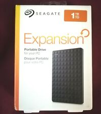 Seagate Expansion Portable 1TB, External, 2.5 inch (STEA1000400) Hard Drive NEW