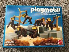 1984 Mattel Playmobil Animal Series CHIMPS #9762 NISB Rare monkeys