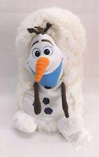 "Disney Hide Away Pets Pillow 14"" Frozen Olaf Plush Stuffed Animal Toy Snowman"