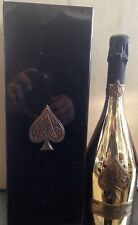 Armand De Brignac Ace Of Spades Brut Champagne.New, Gold Bottle. Case & Booklet