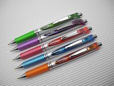 5 Colors set NEW Pentel retractable Ener Gel BL77 0.7mm roller ball pen(Japan)