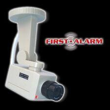 LED Überwachungskamera FIRST ALARM Attrappe Videocamera Kameraanlage Atrappe Cam