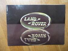 De las Naciones Unidas habitual Land Rover folleto Jm