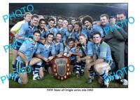 8x6 PHOTO 2003 NSW STATE OF ORIGIN TEAM SERIES WIN PHOTO