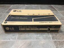 """New LG IPS LED Monitor 22"""" Modle # 22MP48"""