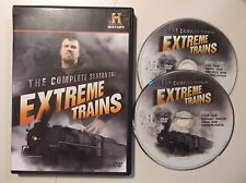 History Channel Presents: Extreme Trains - Season One DVD 2-Disc Set RAILROAD