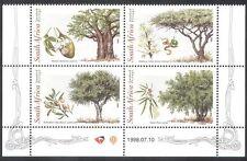 RSA/Afrique du Sud 1998 Arbres/Nature/Plantes/Fruit/seeds/Baobab 4 V BLK (s2641)
