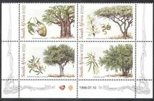 RSA/South Africa 1998 Trees/Nature/Plants/Fruit/Seeds/Baobab 4v blk (s2641)