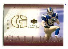 2002 Sweet Spot Gallery JERSEY GOLD Eric Crouch/100 Nebraska/St. Louis Rams