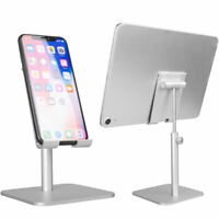 KQ_  Adjustable Universal Tablet Stand Desktop Holder Mount Mobile Phone iPad iP