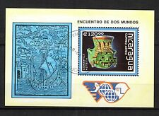 0108++NICARAGUA  BLOC  CERAMIQUE  1992