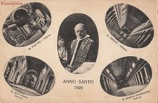 Postcard Pope Pius XI Anno Santo 1925