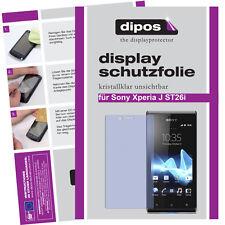 1x Sony Xperia J ST26i Protector de Pantalla protectores transparente