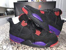 """Pre Owned Air Jordan 4 """"Raptors"""" Size 12"""