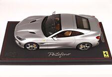 Ferrari Portofino Closed Roof - IAA Frankfurt 2017 Matt Alluminium 1/18 scale