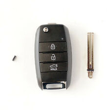 [For KIA Rio 12-16] OEM Keyless Blank Entry Folding Key Remote Control SET