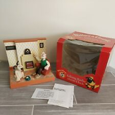 More details for vintage boxed *fully working* wesco wallace and gromit talking radio alarm clock