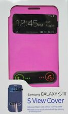 Samsung Galaxy S III S View phone cover Pink