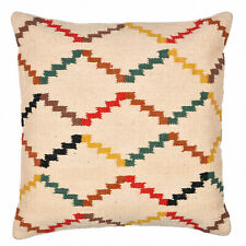 18x18 Nice Color Kilim Rug Pillow Cover Antique Anatolian Kelim Cushions 45x45