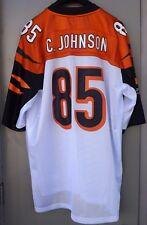 CHAD JOHNSON #85 Cincinnati Bengals Reebok Mens NFL Football Jersey Size XXL
