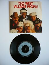 "Village People Go West 7"" Vinyl UK 1979 Can't Stop / Mercury Single EXC Disco"