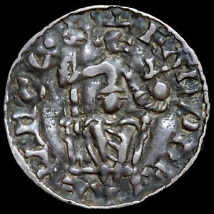 Anglo Saxon. Edward The Confessor, 1042-66. Penny, Sovereign And Eagles Type.