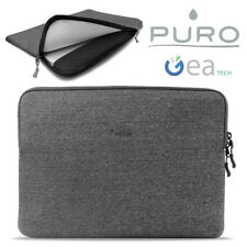 PURO Custodia Secure Sleeve Porta PC Mac Ultrabook Tablet 11' Universale Grigia