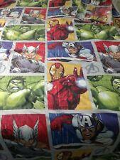 Marvel Avengers Single Duvet Cover Bedding Set with one pillowcase