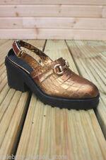 Slingbacks Textured Heels for Women