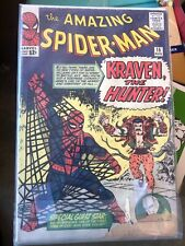 Amazing Spiderman # 15 Kraven the Hunter! Marvel Comics 1964