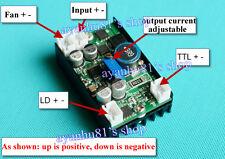 12V 5A Power Supply Driver for 445nm 450nm 3.5W NDB7A75 Blue Laser LD w/ TTL dcm