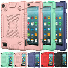 Kids Silicone Tablet Case Cover For Amazon Kindle Fire 7 9th Gen 2019 2017 2015
