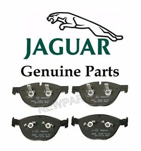Front For Jaguar XJ XF 11-14 Disc Brake Pad Genuine C2D3801/C2D 3801