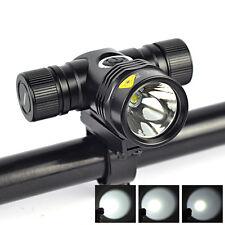 3500LM XM-L T6 LED 5-Modes 18650 Headlight Bicycle Light Camping Flashlight Lamp