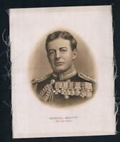 1915 ITC Great War Leaders Tobacco Card Admiral Beatty British Navy
