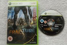 FRACTURE XBOX 360 V.G.C. FAST POST ( action/adventure & shooter game )