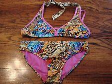 Coogi Girl's Swim Swimwear Swim Suit Bikini Two Piece Size 12 EUC