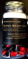 Aggressive Labz Super-Beast (LGD+M-Sten) 60 Capsules *MASS* - Super Sale