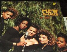 NEW CHOICE At last LP FEMALE R&B SOUL  1988 VG+ in SHRINK