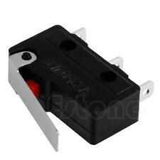20pcs C+NO+NC Micro Limit Sensor Switch Roller Arm Lever Subminiature 3A 250V