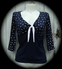 Cotton Blend 3/4 Sleeve Women's Other Tops