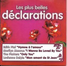 CD CARTONNE CARDSLEEVE 4T EDITH PIAF/MARILYN MONROE/PLATTERS/DELYLE NEUF SCELLE