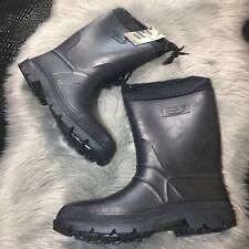Kamik Mens Hunter Black Waterproof w/Thermal Guard Liner Boots Size 12 M
