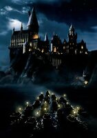 HARRY POTTER & THE PHILOSOPHER'S STONE Movie PHOTO Print POSTER Textless Art 002
