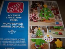 Step2 My First Christmas Tree With Ornaments New