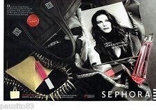 PUBLICITE ADVERTISING 096  2012  parfum Mytiques Sephora (2p) Givenchy Liv Tyler