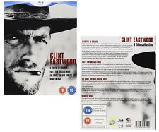 CLINT EASTWOOD 1964-1968 BLU-RAY - 4 MOVIES - FISTFUL OF DOLLARS - GOOD BAD UGLY